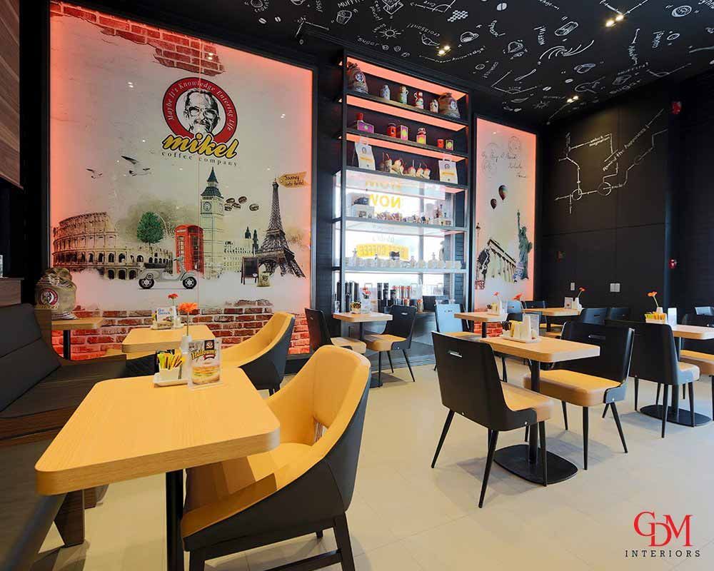 Restaurant fit out company in Dubai