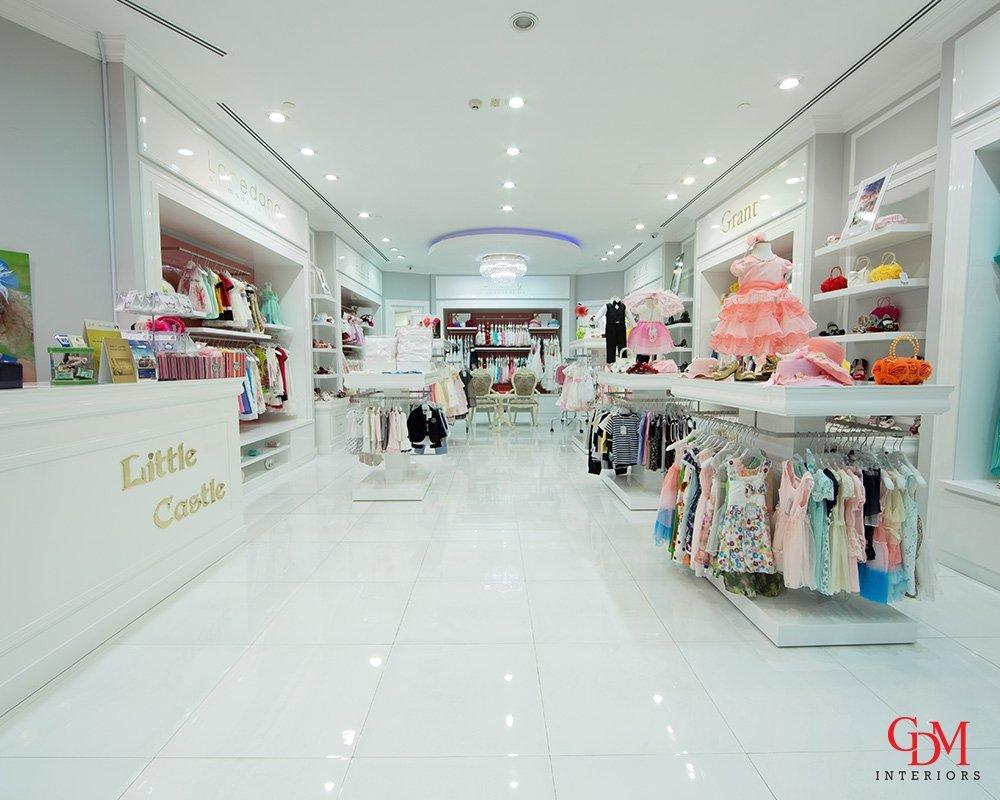 retail interior design company uae