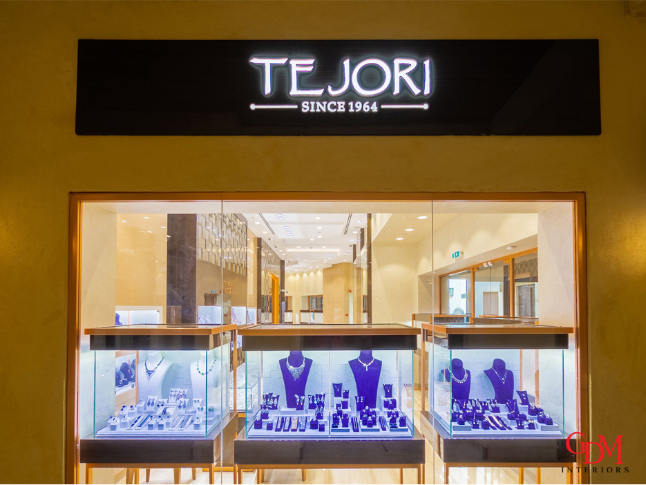 Jewellery Store fit out company in Dubai
